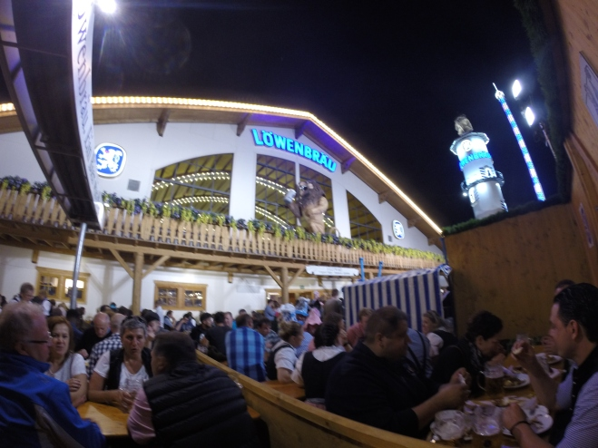 Biergarten Löwenbräu