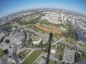 Parque Olímpico visto da Torre Olímpica
