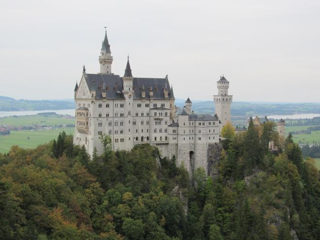 Castelo Neuschwanstein (Crédito: Luiza Maciel)