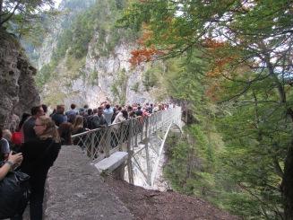 Marienbrücke lotada (Crédito: Luiza Maciel)