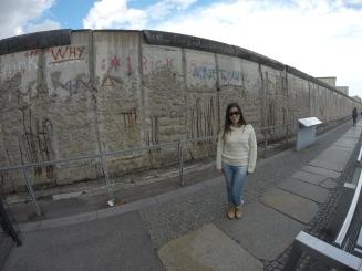 Trecho do Muro de Berlim