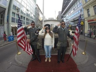 Guardas do Checkpoint Charlie