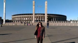Entrada do Estádio Olímpico