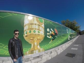 Homenagem às finais da Copa da Alemanha