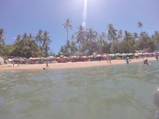 Barracas na Praia de Calhetas