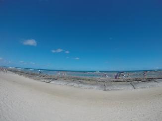 Praia de Gaibú e os arrecifes