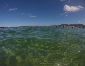 Mar da Praia de Gaibú