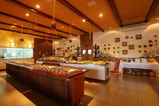 Buffet (Crédito: Parraxaxá - Cozinha típica nordestina)